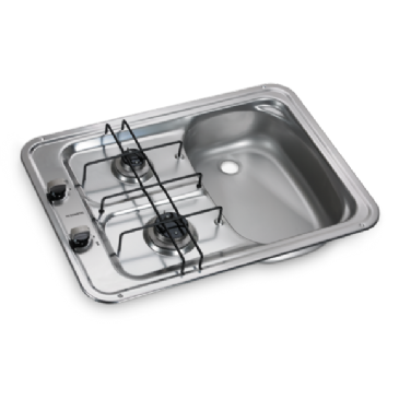 DOMETIC HS 2420 GAS HOB AND SINK Combination Unit - Left or Right Hand